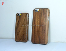 Real Natural Walnut Wood Case Wooden Cover Protective Skin Hard Phone Back Shell Case For Apple iPhone 6 4.7 Inch