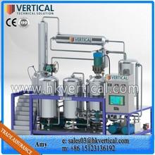 VTS-PP Vertical PLC Control Waste Engine Oil Distillation Machine
