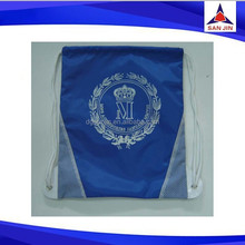 Hot promotion 190T polyester drawstring bag