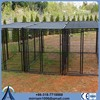 ISO 9021 or galvanized comfortable dog cage with wheels