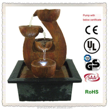 timber design indoor decorative fountains and waterfalls