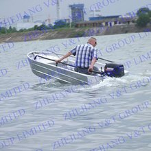 v bottom aluminum fishing boats