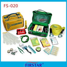 FDA CE ISO approved road accident emergency first aid kits
