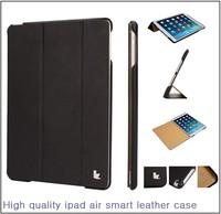 Case for iPad Air 2 Jisoncase Micro fiber Case Cover for iPad Air 2 for iPad air 2 smart case