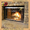 Single Fireproof Glass, Fire Resistant Glass, Fire Rated Glass Door
