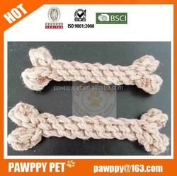 cotton rope bone pet toy/dog toy