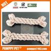 cotton rope bone pet toy/dog toy