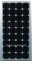High Efficiency CE 12V 80W Monocrystalline solar panel manufacturer Product