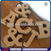 TSD-C587 Custom decorative cardboard letters/different styles alphabet letters/3D channel letter