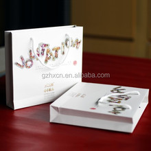 white beautiful art paper photo album bags in Guangzhou