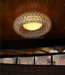 Transparent caboche lighting with led light source for interior decorative