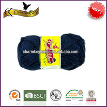 2014 classic 100 cotton ring spun yarn with all color