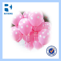 colourful promotion logo latex balloon