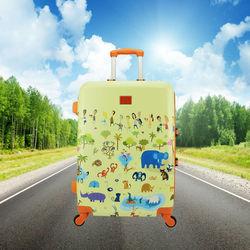 promotional ABS hard shell backpack type luggage/ luggage sets / luggage bag