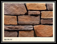 2015 new arrival high quality light weight faux stone siding