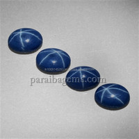 5ct Blue Star Sapphire 7mmx5mm Oval Cabochon Stones Manufactures Suppliers In India Natural Semi Precious 100% Genuine Gemstones