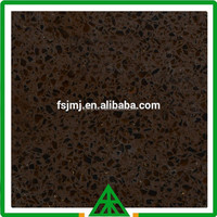 2015 Fashion Designed Black Color Quartz Stone for Countertop and Floor in Bathroom And Kitchen,Engineered Stone