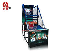 2015 QHBM-01 new product coin operated Sport basketball machine
