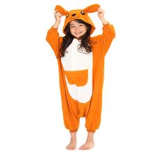 nuevo canguro para niños traje de cosplay baratos al por mayor de los animales pijama onesie pijamas