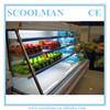 Open Type Supermarket Fruit Showcase Cooler