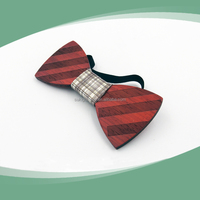 Colorful wedding bowtie leather bow tie leather bow tie