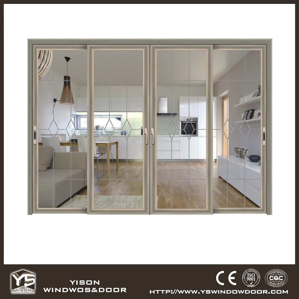 Cheap aluminum door aluminum sliding glass door for house for Aluminum sliding glass doors