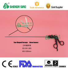 Resuable Surgery Instruments Fan-shaped forceps(three leaves)