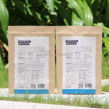 famous brand vanish logo food bag factory sale price kraft paper bag