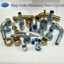 China carbon steel fitting manufacture hydraulic fuel hose fitting