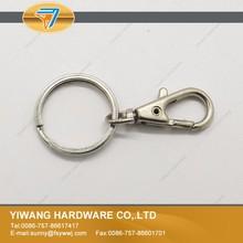 hot sale high quality metal loop split key ring