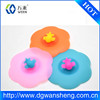 Eco-friendly silicone plastic cup cover/custom silicone coffee cup cover with excellent price