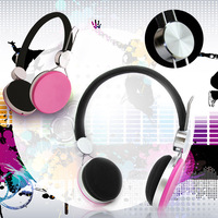 Yes-Hope 20-20KHz 2015 new colorful plastic fancy headset headphone for mobile phone computer