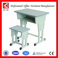 adjustable & attractive design cheap school furniture student study desk and chair