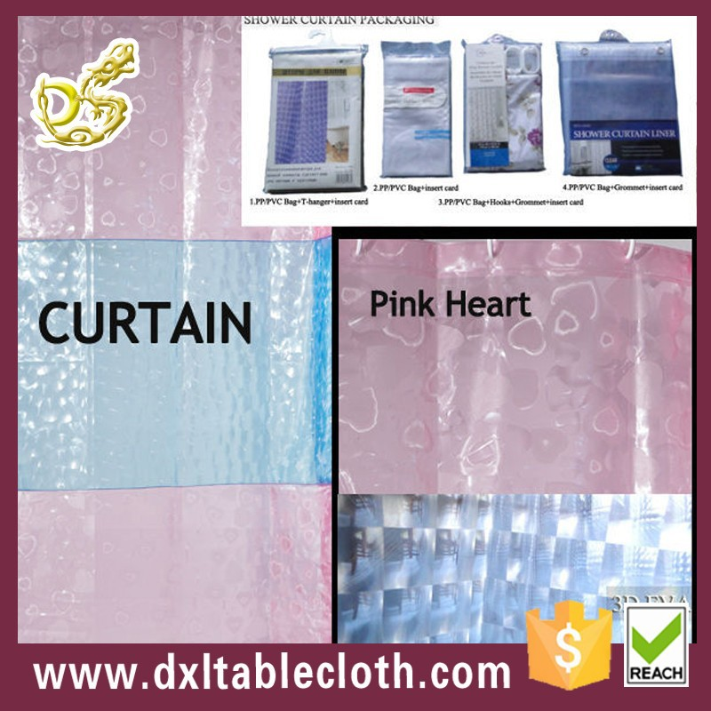 Pvc custom shower curtain liners buy shower curtain Swimming pool shower curtain