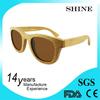 Custom Promotional glasses nature bamboo and wood sunglasses