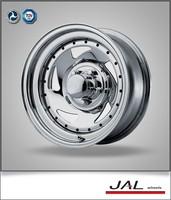 high quality 16x7 inch silver trailer wheel