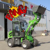 Shanghai Bauma fair popular HZM 908 articulated mini/small wheel loader for sale with Rops/fops