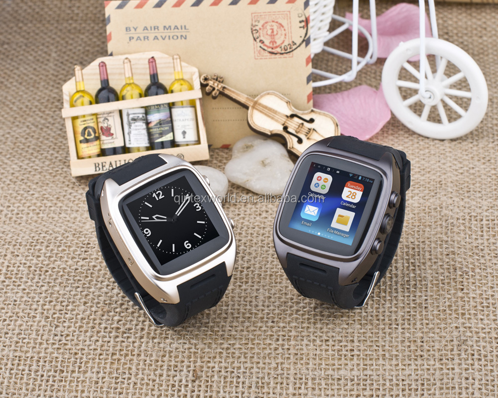 Android watches mobile phone gsm gps wifi 3 0m with sim tf card slot
