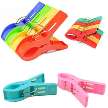 Mixed Color Big Size Plastic Laundry Clip Clothes Pegs