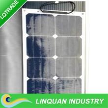 25W Sunpower monocrystalline silicon Flexible Solar Panel