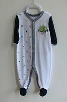 100% Cotton fashionable newborn baby romper, baby clothing