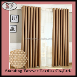 Polyester Blackout Window Curtains