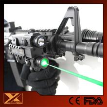 Shotgun green laser sight plus tactical led flashlight combo