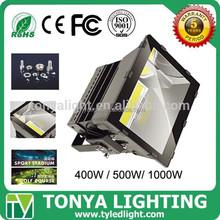 Ip66 tennis basketball court high watt 300w 400w 500w 1000w outdoor floodlight led flood lighting housing high pole fixtures