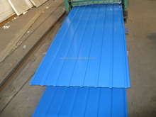 IBR roofing sheets price corrugated with sky blue color / meadow green color