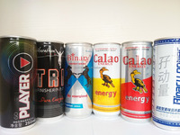 Non alcohol Carbonated Power Energy drink