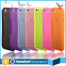 Hot sale silicone tpu phone case for iphone 6 plus 5.5 inch mobile phone case