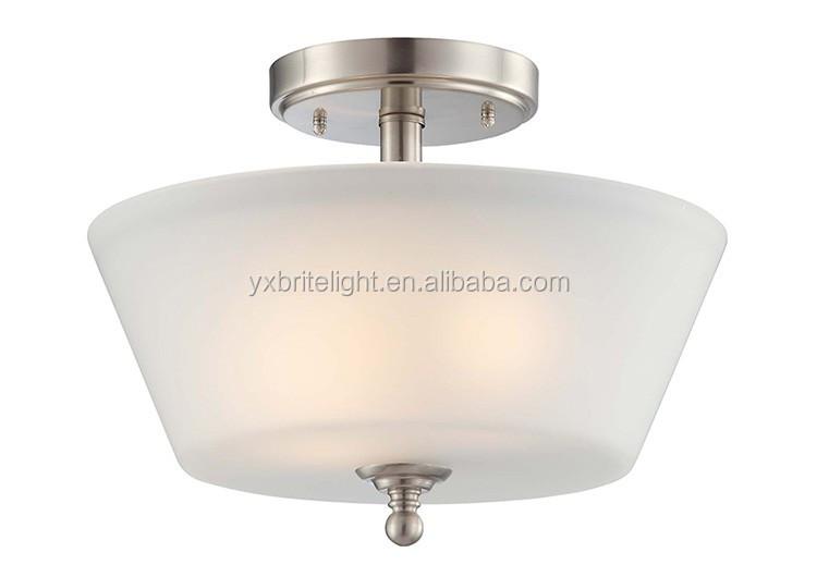Glass ceiling flush mount lamp the corridor ul listed ceiling light