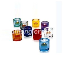 high quality wedding crystal candle holder tea light holder