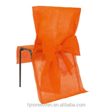cheap disposable chair sashes for wedding decoration